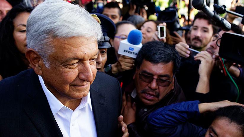 Encuestas a boca de urna muestran que López Obrador se impone con 41 % de los votos