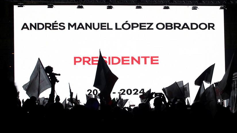 López Obrador llama a la reconciliación tras su previsible victoria en las presidenciales de México
