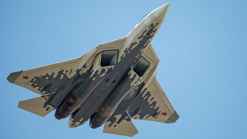 Ingenieros rusos logran mejorar en un 50 % el sigilo de los cazas Su-57