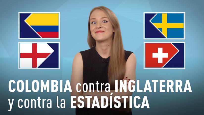 Colombia contra Inglaterra y contra la estadística: ¿Avanzarán los 'cafeteros' a la siguiente etapa?
