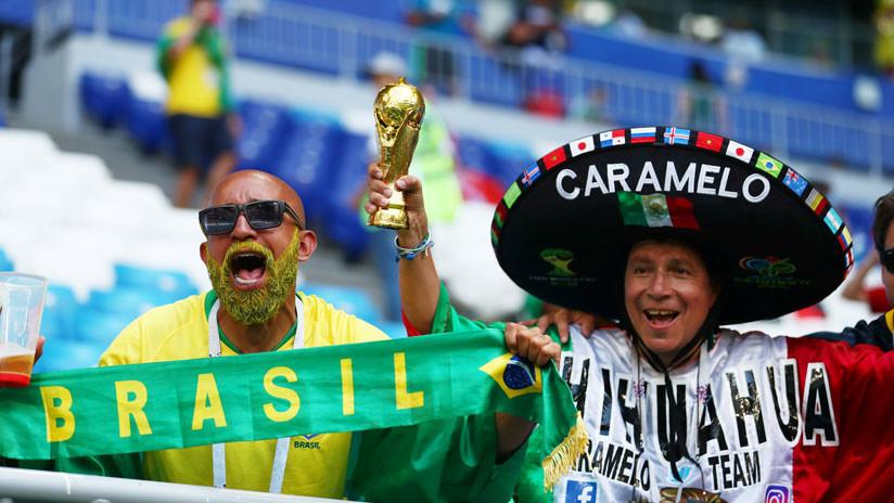 Brasil demuestra su favoritismo y con dos goles asegura su paso a cuartos