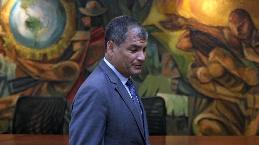 Correa se presenta ante el Consulado de Ecuador en Bélgica por el 'caso Balda'