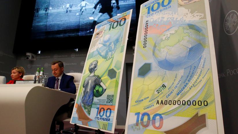 Dinero adivino: ¿Predijo el billete de 100 rublos la parada de Akinféyev ante España?
