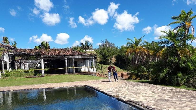 Tesoros y 'paintball': Así luce la lujosa mansión de Pablo Escobar tras 25 años de abandono (FOTOS)