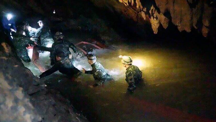 Aunque ya los encontraron, el rescate de los niños atrapados en cueva tailandesa podría tardar meses
