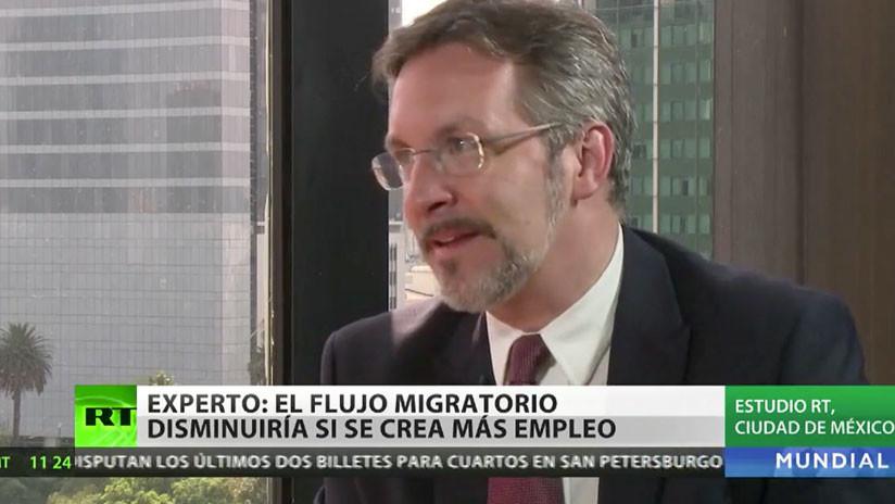 """John Ackerman acerca del plan de AMLO sobre migración: """"Es una propuesta para cambiar la situación"""""""