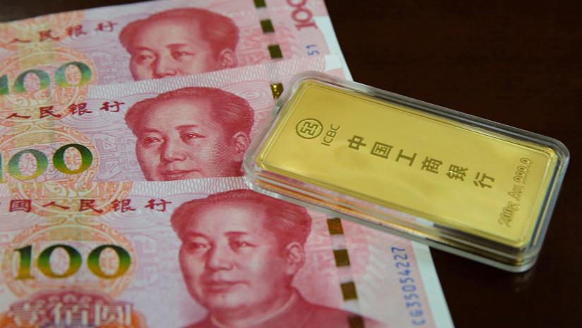 El oro y los yuanes ya suponen el 20 % de las reservas internacionales de Rusia