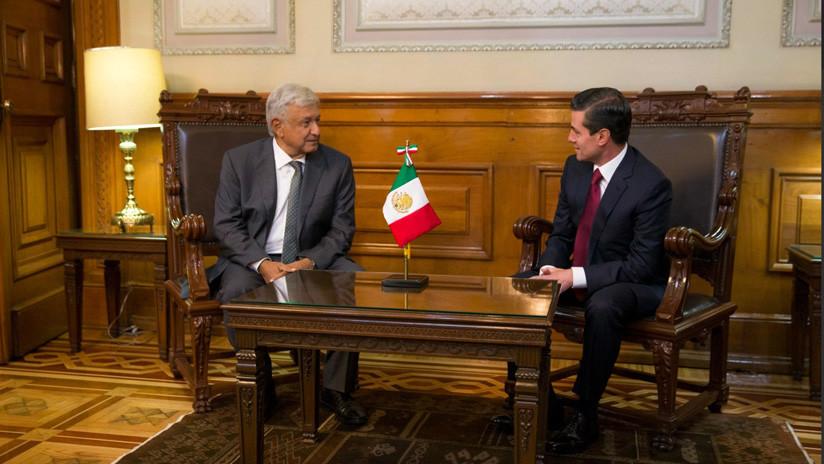 """""""Una transición ordenada y pacífica"""": López Obrador se reúne con Peña Nieto"""