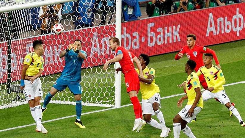 Inglaterra elimina a Colombia en penales y se clasifica a los cuartos del Mundial de Rusia 2018