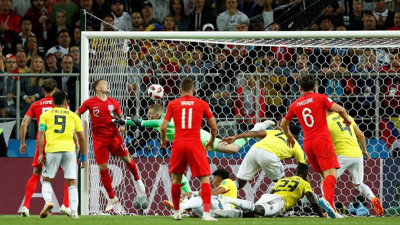 Colombia empata con Inglaterra en el último partido de los octavos del Mundial de Rusia