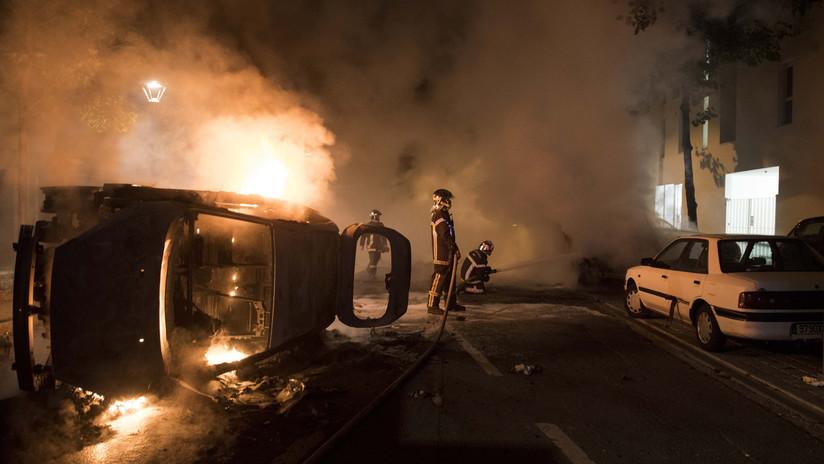 VIDEOS, FOTOS: Se desatan violentos disturbios en Francia luego de que un policía matara a un joven