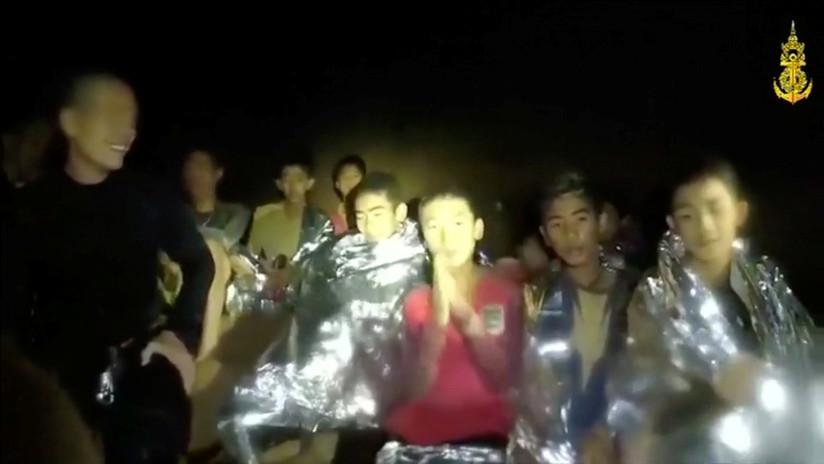 Tailandia: Militares publican nuevo video de niños atrapados en cueva y revelan detalles de rescate