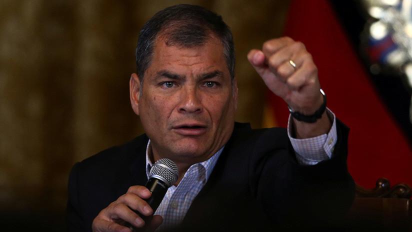 """Correa a RT: """"No tengo una orden de arresto por la Justicia ecuatoriana, sino por la Injusticia"""""""