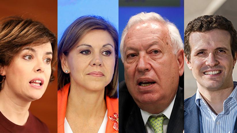 España: Primera batalla de las primarias del Partido Popular para sustituir a Mariano Rajoy