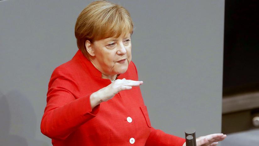 """Merkel: Alemania se compromete a hacer """"todo lo posible"""" para evitar una guerra comercial con EE.UU."""