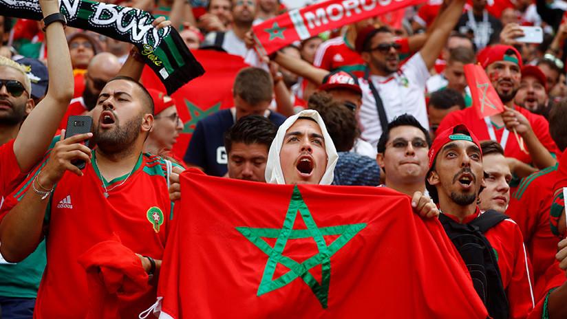 Dos hinchas marroquíes se quedan a vivir en Rusia tras el Mundial