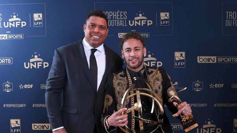 Ronaldo defiende a Neymar y critica a los árbitros del Mundial por no proteger al astro brasileño
