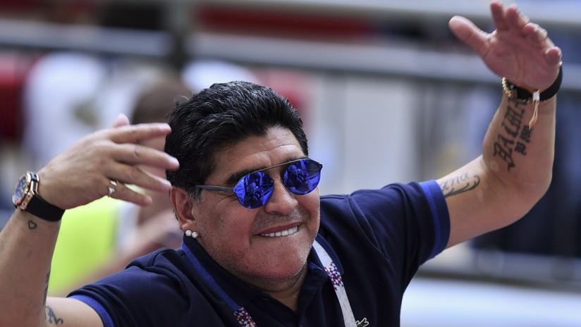 """La FIFA condena críticas de Maradona sobre el """"robo monumental"""" a Colombia en el Mundial"""