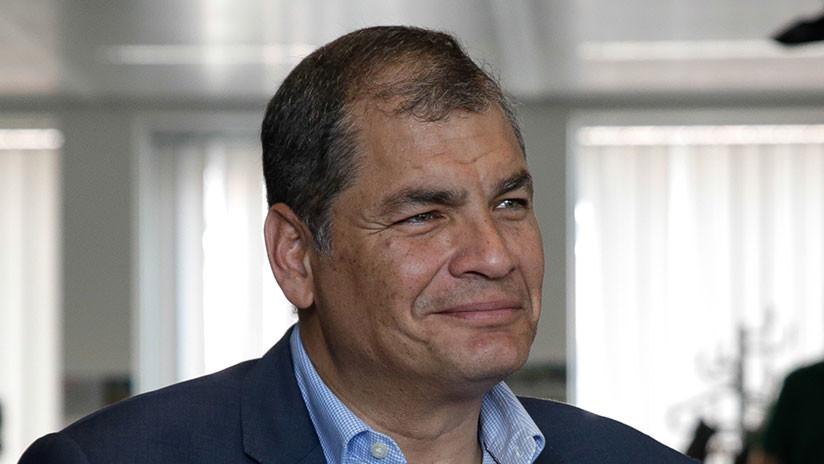 """""""Su silencio otorga"""": Correa reprende a la Justicia ecuatoriana por """"no reaccionar a tanto insulto"""""""