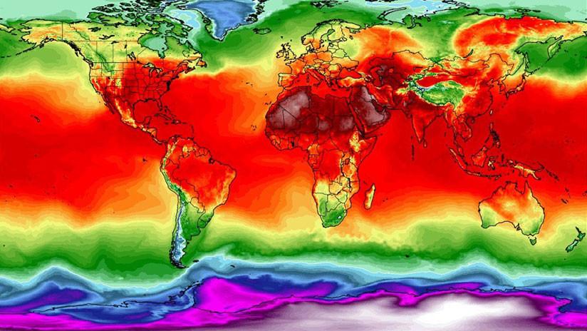 El calentamiento global va en serio: El planeta bate docena de récords históricos de calor en 7 días