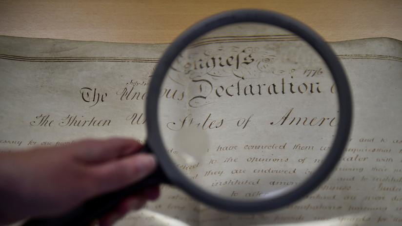 """Facebook censura la Declaración de Independencia de EE.UU. por """"incitar al discurso del odio"""""""