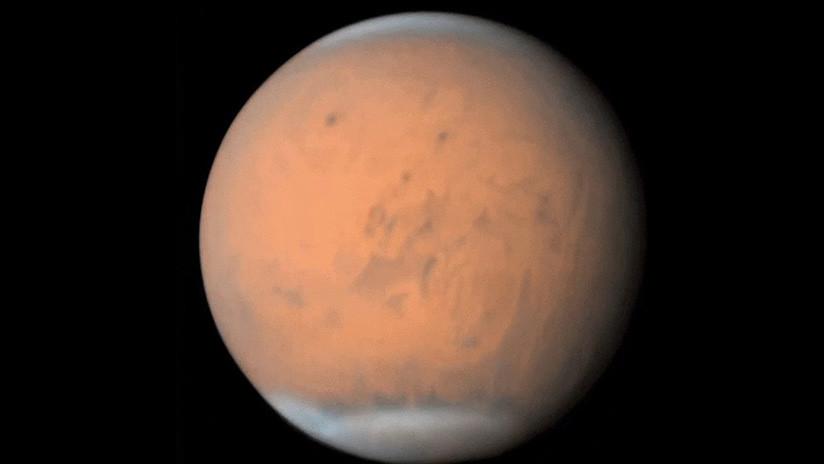 VIDEO: Así se ve la gigantesca tormenta de polvo que dejó Marte a oscuras