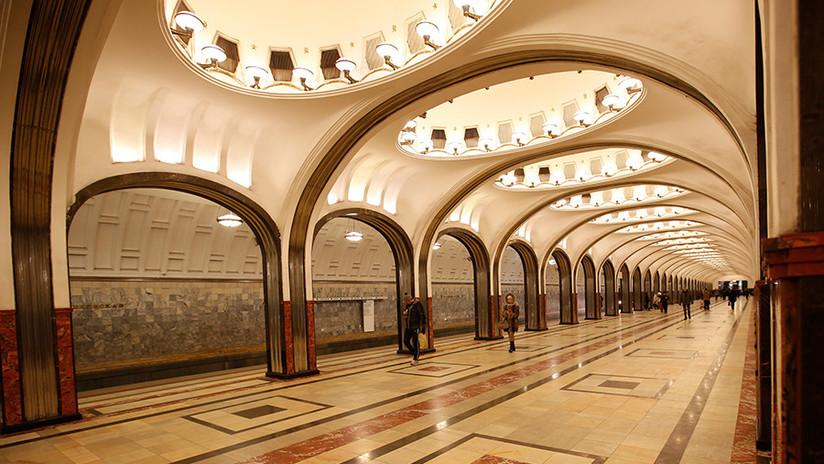 FOTOS: Las estaciones de metro más bellas de Moscú, elegidas por arquitectos franceses en el Mundial