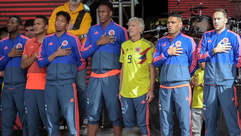 Colombia recibe como héroes a los integrantes de su combinado nacional
