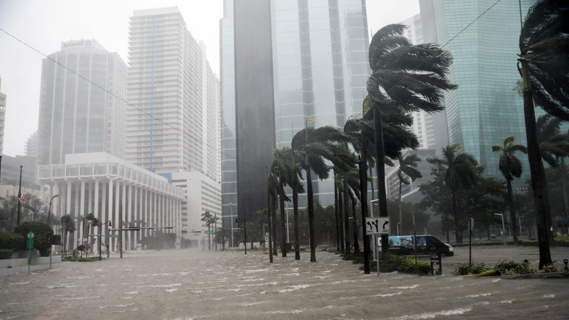 Revelan que policías en servicio tomaban cervezas mientras el huracán Irma llegaba a Florida