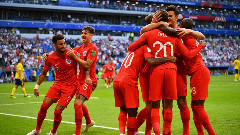 MINUTO a MINUTO: Inglaterra se impone 2 a 0 sobre Suecia y es el tercer semifinalista del Mundial
