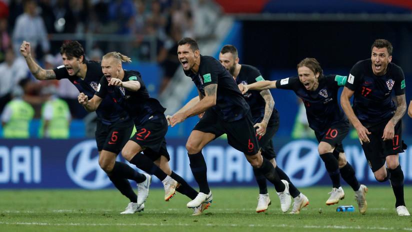 Rusia se despide del Mundial con la cabeza en alto al caer en cuartos de final ante Croacia
