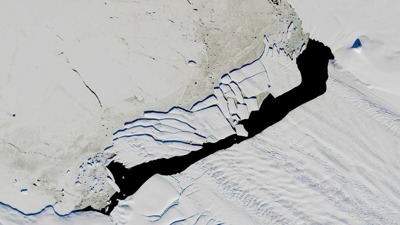 Registran actividad volcánica bajo el glaciar de la Antártida que se derrite más rápido