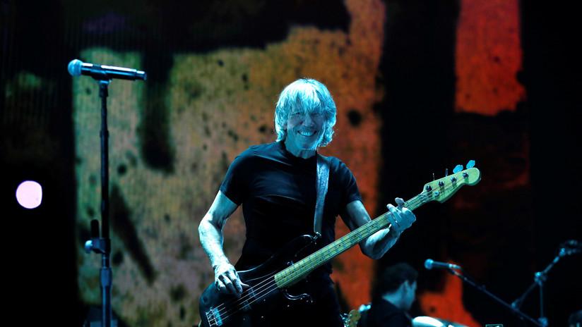 """""""Trump é um porco"""": insultos contra o presidente dos EUA  fazem parte do show de Roger Waters"""