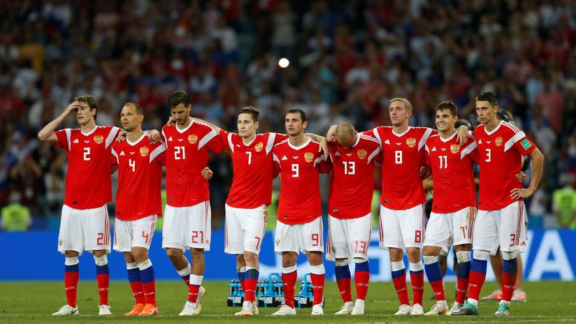 """Putin felicita a la selección de Rusia por su """"bonito"""" juego exhibido en el Mundial 2018"""