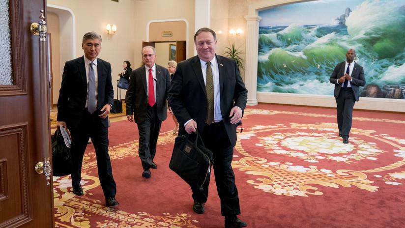 Pompeo: Pionyang confirma su intención de desnuclearización, pero EE.UU. aún no levanta sanciones