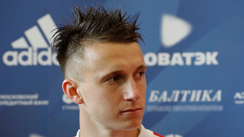 El ruso Golovín ocupa el tercer lugar entre las grandes revelaciones del Mundial