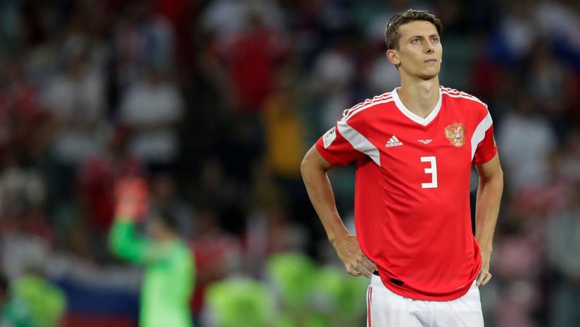 """""""Es terrible mirarlo"""": El pie de un jugador ruso tras el partido contra Croacia (FUERTE FOTO)"""