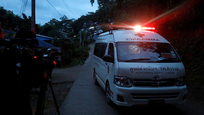 Suspenden por entre 10 y 20 horas la operación de rescate en Tailandia