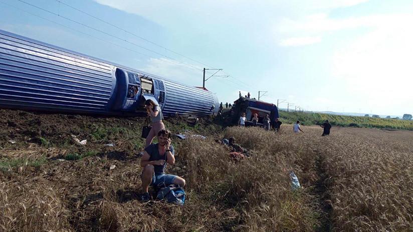 Al menos 10 muertos tras accidente de tren en Turquía