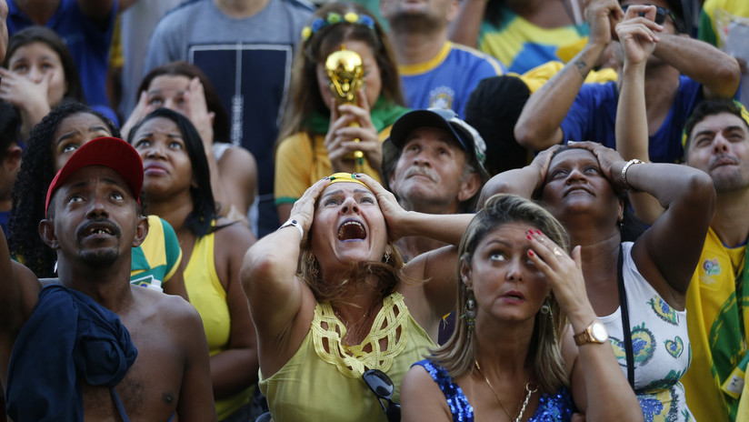 'Diablos Rojos': El papa interrumpe su sermón y comenta la eliminación de Brasil del Mundial (VIDEO)