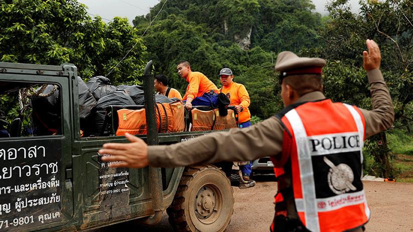 Rescatan al quinto niño de la cueva de Tailandia