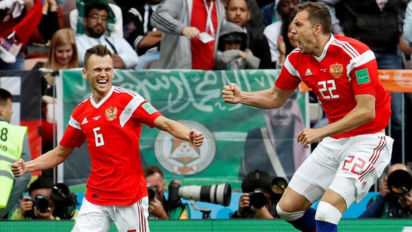 Dos jugadores rusos, en la lista de estrellas emergentes del Mundial 2018
