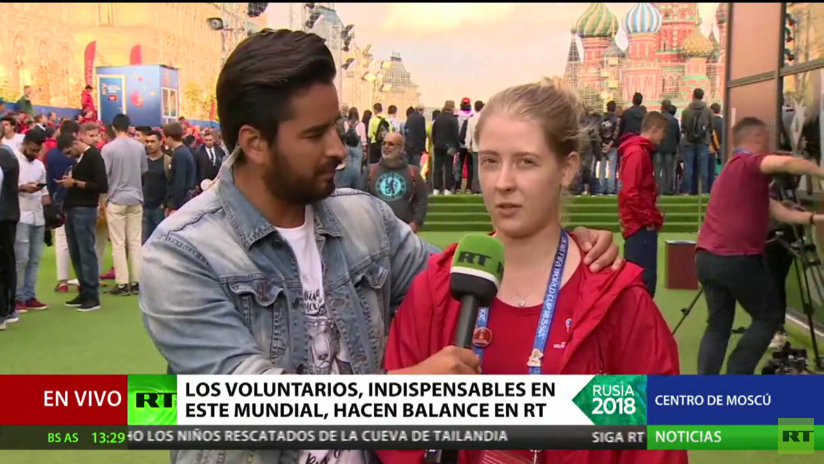 Los voluntarios de Rusia 2018 hacen su balance de la Copa del Mundo