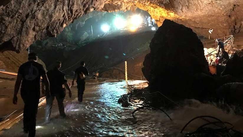 Los 4 niños que siguen atrapados en la cueva tailandesa con su entrenador pueden ser rescatados hoy