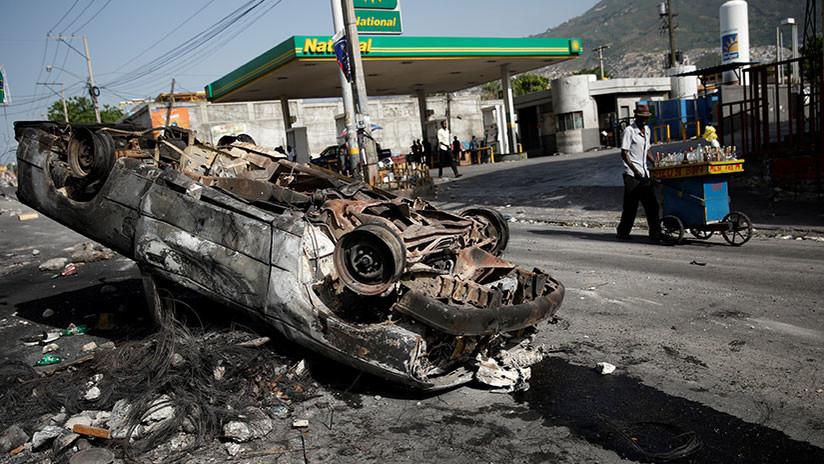 Los disturbios en Haití ponen de relieve años de abusos 'humanitarios'