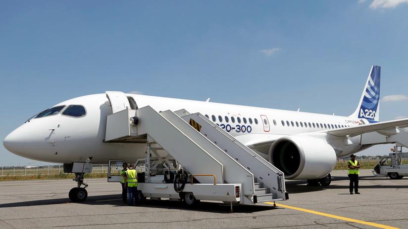 Airbus presentó el nuevo A220, su nueva familia de aviones