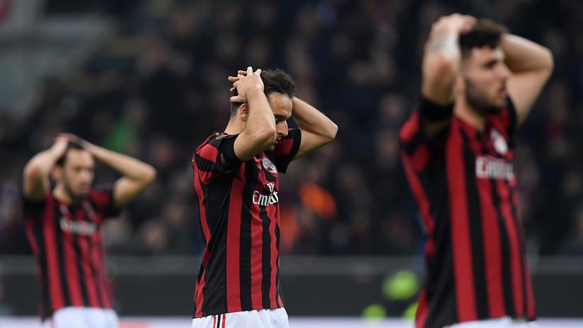 El grosero error de la nueva camiseta del AC Milan