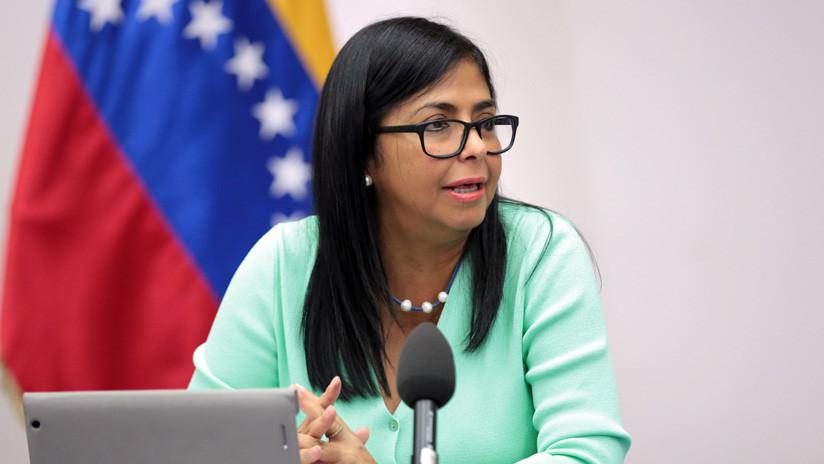 Suiza sanciona a la vicepresidenta Delcy Rodríguez y a otros funcionarios de Venezuela
