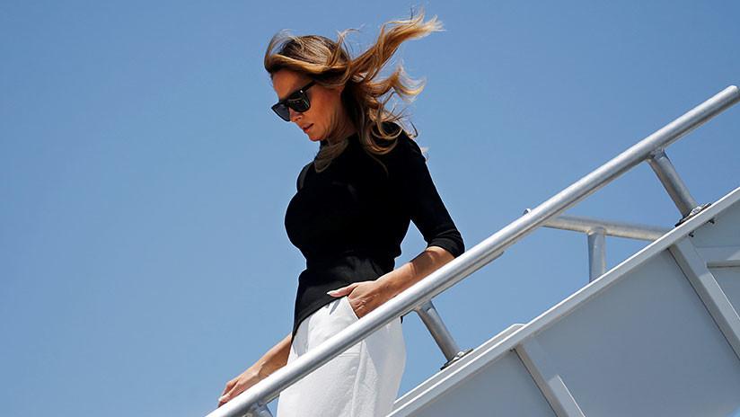 ¿La otra cara de la Casa Blanca? Explican por qué Melania acompaña a Trump en su gira europea