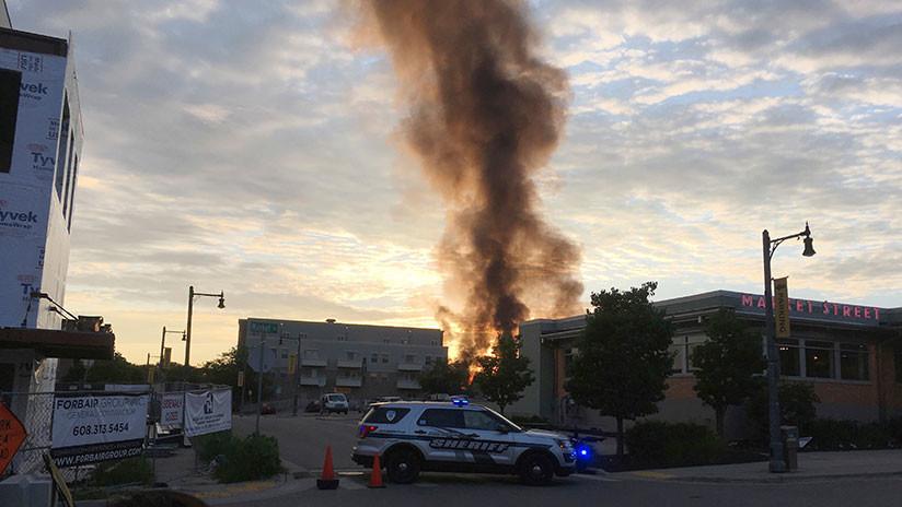FOTOS: Varios heridos por una explosión en Wisconsin